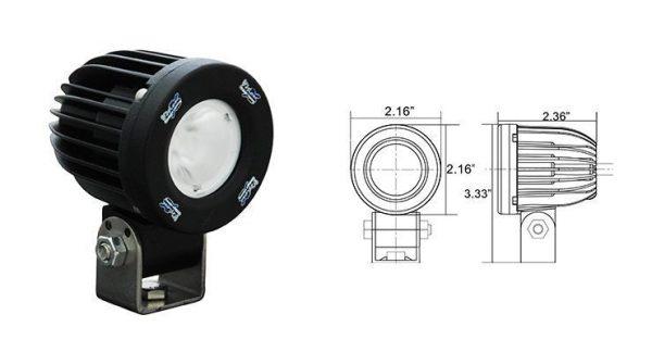 Kit luces auxiliares led Vision X SPP Kit luces led vision x SPP